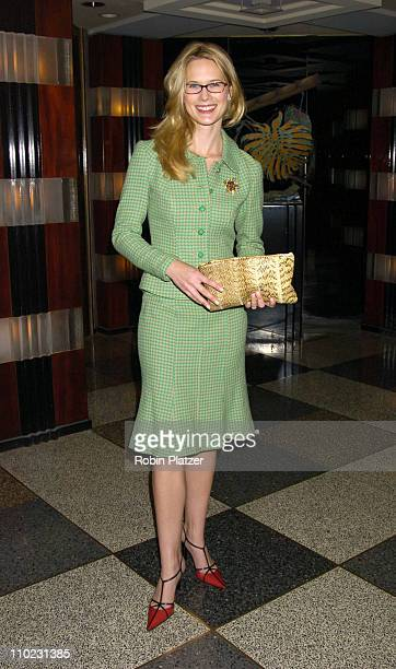Stephanie March during The 18th Annual CitymealsonWheels 'Power Lunch For Women' Arrivals at The Rainbow Room in New York City New York United States