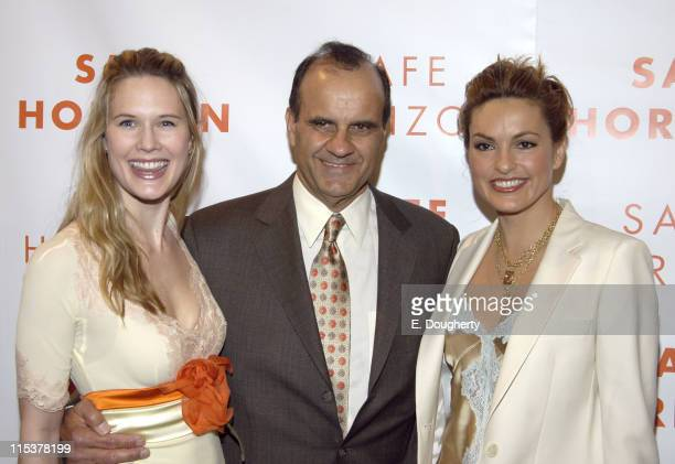 Stephanie March Joe Torre and Mariska Hargitay during Safe Horizon 10th Annual Champion Awards Luncheon Honoring Ali Torre and Joe Torre at The 69th...