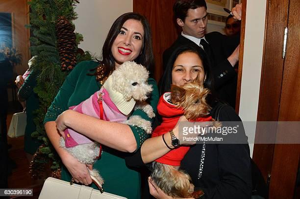 Stephanie Mattera and Jennifer Quinones attend Leesa Rowland Ramona Singer R Couri Hay Cornelia Guest Salute Animal Ashram @ Chez Couri at Chez Couri...