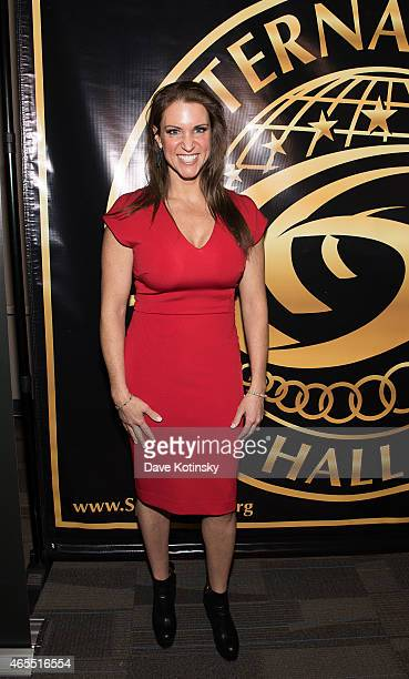 Stephanie McMahon attends Arnold Sports Festival International Sports Hall Of Fame Class of 2015 on March 7 2015 in Columbus Ohio