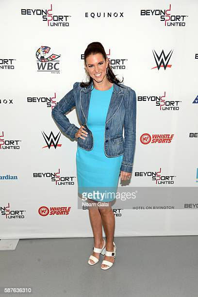 Stephanie McMahon attends Beyond Sport United 2016 at Barclays Center on August 9 2016 in Brooklyn New York