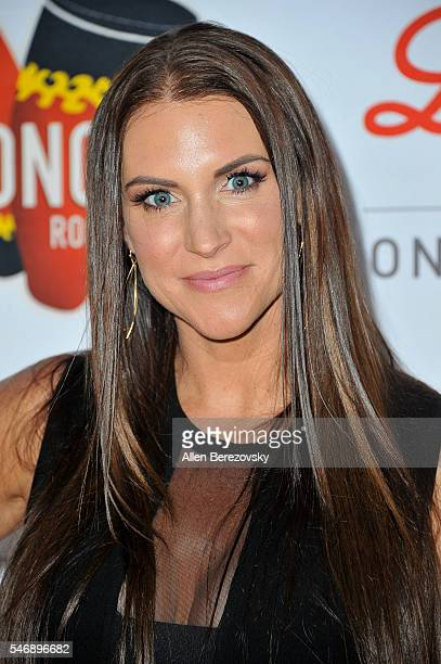 Stephanie McMahon attends the 2nd annual Sports Humanitarian of The Year Awards at Conga Room on July 12 2016 in Los Angeles California