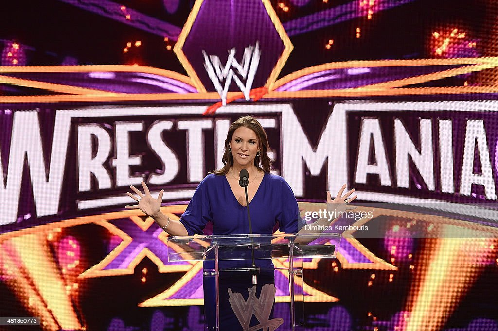 WrestleMania 30 Press Conference : News Photo