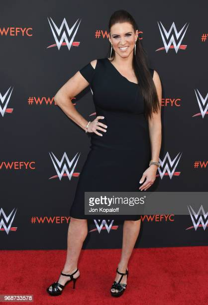 Stephanie McMahon attends WWE's FirstEver Emmy For Your Consideration Event at Saban Media Center on June 6 2018 in North Hollywood California