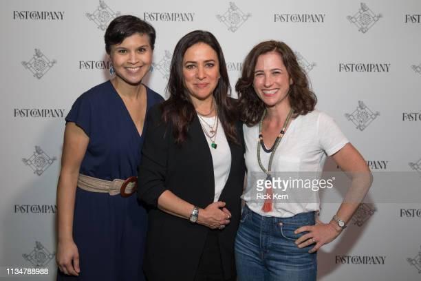 Stephanie Mehta EditorinChief Fast Company Pamela Adlon Executive Producer Writer Director and Actor and Jill Bernstein Editorial Director Fast...