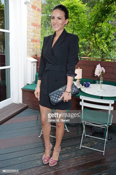 Stephanie Mendoros attends a private dinner hosted by Cartier to celebrate the opening of the British Polo Season at Casa Cruz on May 24 2018 in...