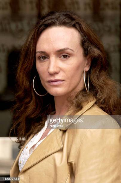 Stephanie Michelini actor in Wild Side during The Times BFI London Film Festival 2004 Filmmakers Breakfast at Sofitel Hotel in London Great Britain