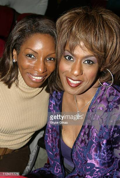 Stephanie Mills and Jennifer Holliday during Broadway Inspirational Voices at Town Hall to Benefit Broadway Cares at Town Hall in New York City New...