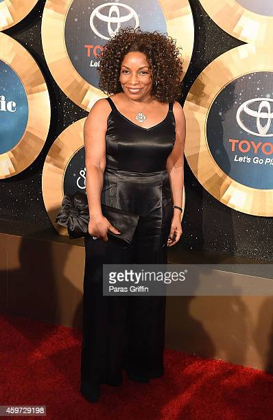 Stephanie Mills attends the 2014 Soul Train Music Awards at the Orleans Arena on November 7 2014 in Las Vegas Nevada