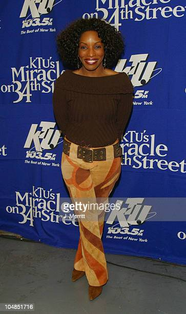 Stephanie Mills during KTU's Miracle on 34th Street at Madison Square Garden in New York City New York United States