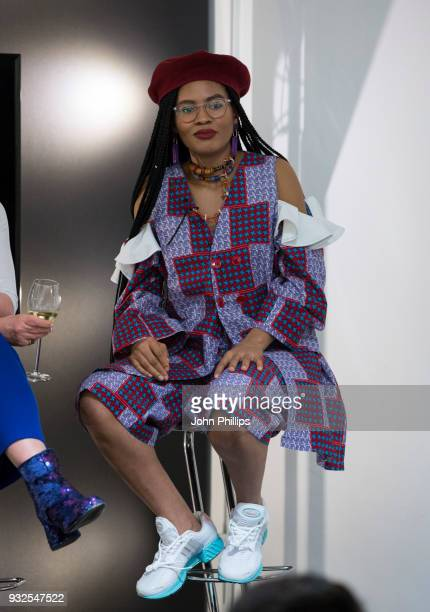 Stephanie Nnamani, Getty Images photographer attends the SUBJECT / OBJECT / CREATOR exhibition and discussion on the evolution of the female gaze at...