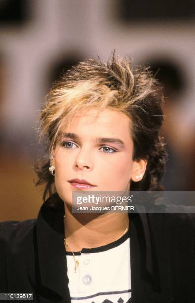 Stephanie of Monaco receives a gold record in Paris,France on December 21, 1986.