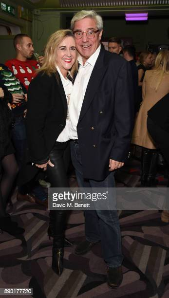 Stephanie Parker and Dominic Parker attend the world premiere press night performance of 'Nativity The Musical' at Eventim Apollo Hammersmith on...