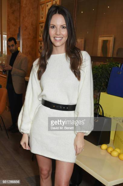 Stephanie Peers attends the Espie Roche launch breakfast at The Chess Club on March 13 2018 in London England
