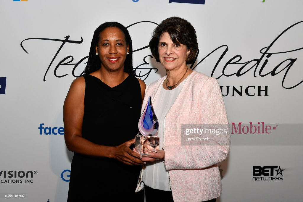 Stephanie Peters, and Rep Lucille Roybal Allard (D-CA) (recipient of Leadership in Diversity award) appear at IMPACT Strategies and D&P Creative Strategies Tech & Media day party and brunch atat Longview Gallery on September 14, 2018 in Washington, DC.