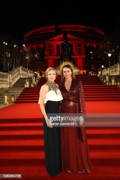 Stephanie Phair and Caroline Rush during The Fashion Awards 2018 In Partnership With Swarovski at Royal Albert Hall on December 10, 2018 in London,...
