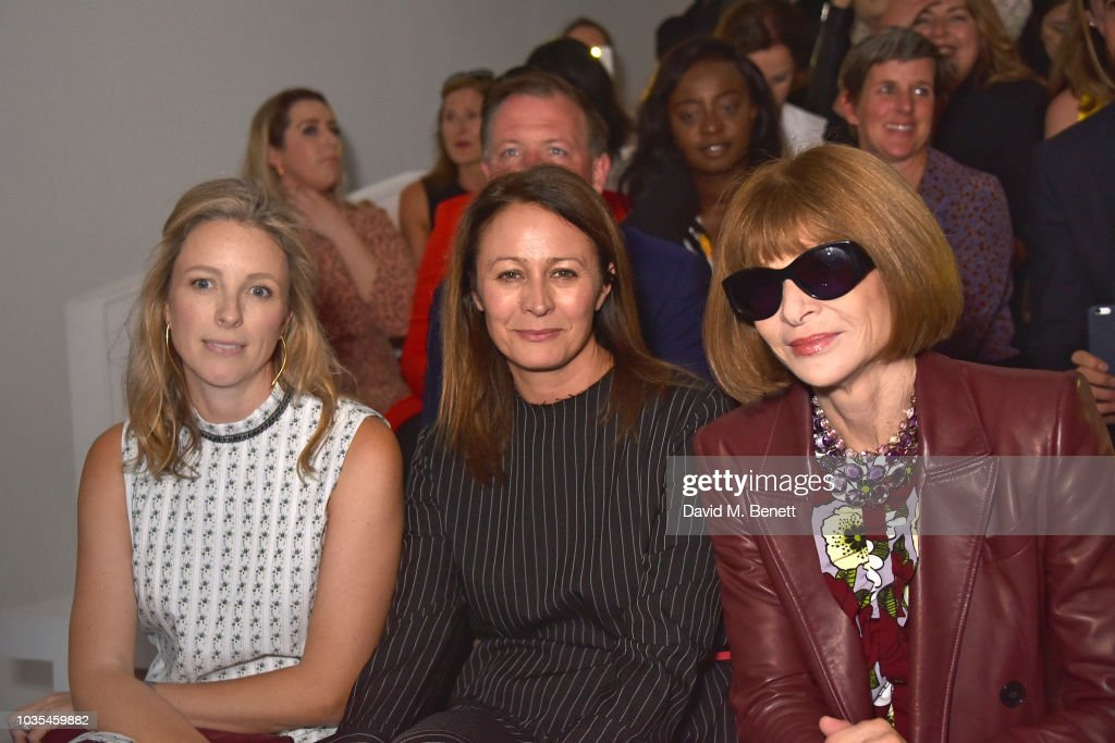 Richard Quinn - Front Row - LFW September 2018