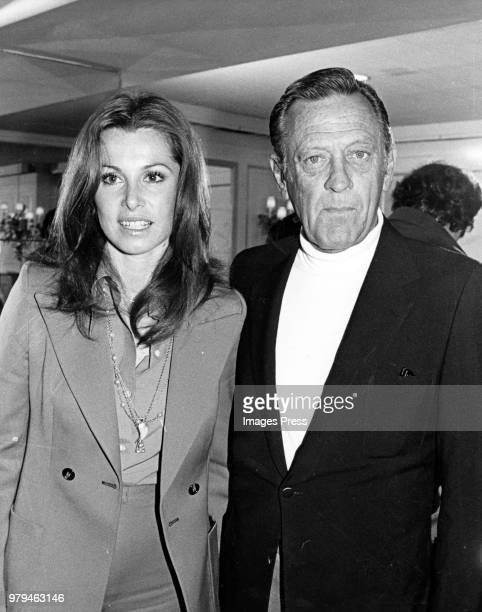 Stephanie Powers and William Holden circa 1980 in New York