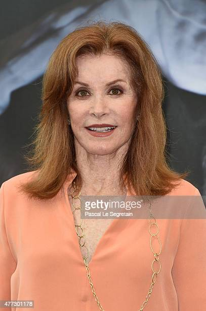 Stephanie Powers from Hart to Hart TV series attends a photocall on June 16 2015 in MonteCarlo Monaco