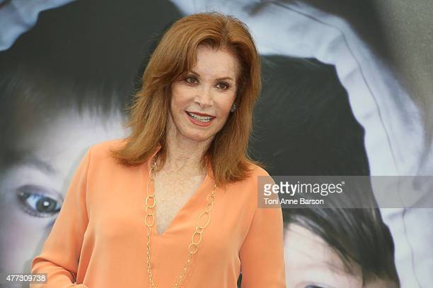 Stephanie Powers from 'Hart to Hart' TV series attends a photocall on June 16 2015 in MonteCarlo Monaco