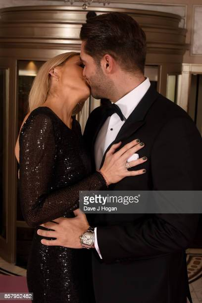 Stephanie Pratt and Johnny Mitchell attend the Amy Winehouse Foundation Gala at The Dorchester on October 5 2017 in London England