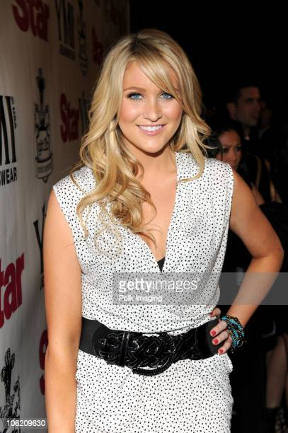 Stephanie Pratt arrives to the Star Magazine Celebration of the Young Hollywood Issue at Apple Lounge in West Hollywood CA on March 11 2009