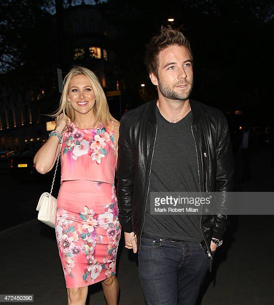Stephanie Pratt at the ME hotel for the Michelle Keegan Lipsy clothing launch party on May 7 2015 in London England