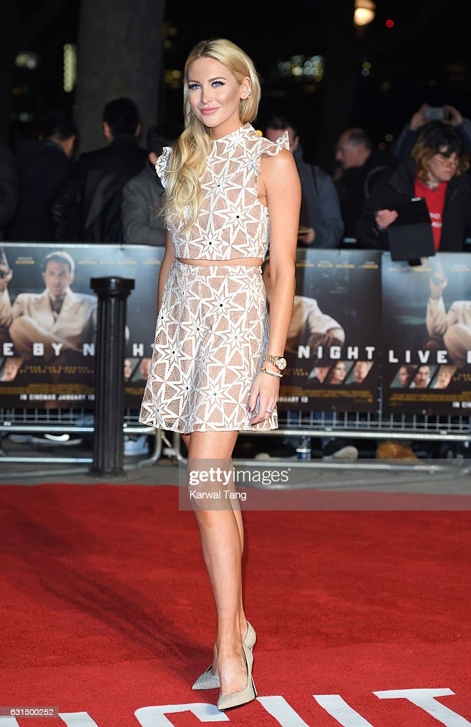 Stephanie Pratt attends the European Film Premiere of 'Live By Night' at The BFI Southbank on January 11, 2017 in London, United Kingdom.