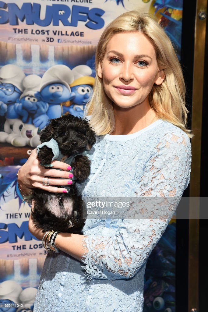 Stephanie Pratt attends the Gala Screening of 'Smurfs: The Lost Village' at Cineworld Leicester Square on March 19, 2017 in London, England.