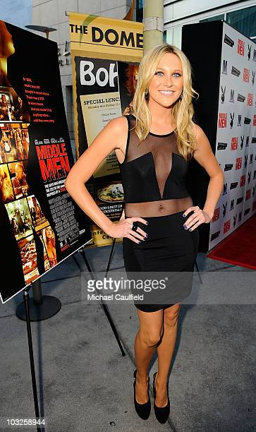 Stephanie Pratt attends the Los Angeles premiere of Middlemen held at the ArcLight Cinemas on August 5 2010 in Hollywood California