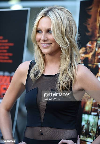 Stephanie Pratt attends the premiere of 'Middle Men' at ArcLight Hollywood on August 5 2010 in Hollywood California