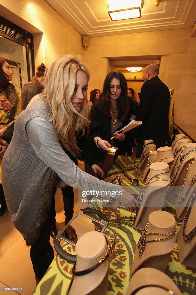 70e02d860adf Stephanie Pratt attends Theodora   Callum Holiday Shopping Event at ...