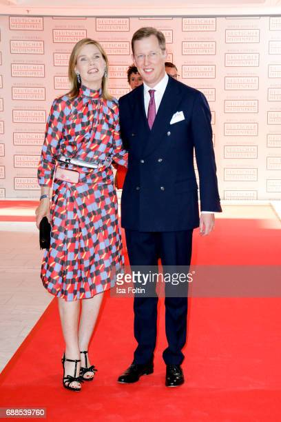 Stephanie Princess of Baden and her husband Bernhard Prince of Baden during the German Media Award 2016 at Kongresshaus on May 25 2017 in BadenBaden...