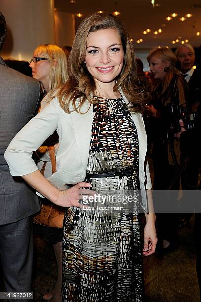 Stephanie Puls attends the 'Liberty Award 2012' at Hotel Hyatt on on March 26 2012 in Berlin Germany