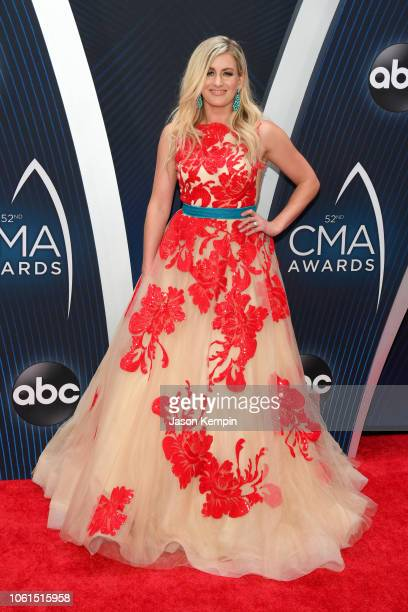 Stephanie Quayle attend the 52nd annual CMA Awards at the Bridgestone Arena on November 14 2018 in Nashville Tennessee