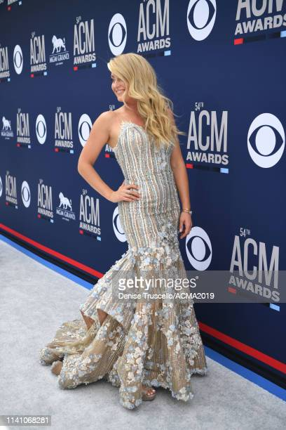Stephanie Quayle attends the 54th Academy Of Country Music Awards at MGM Grand Hotel Casino on April 07 2019 in Las Vegas Nevada