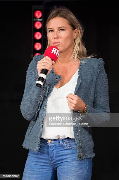 Stephanie Renouvin attends the RTL Press Conference at Elysees Biarritz Cinema on September 7 2016 in Paris France