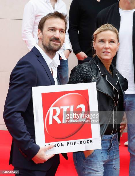 Stephanie Renouvin attends the RTL RTL2 Fun Radio Press Conference to announce their TV Schedule for 2017/2018 at Elysee Biarritz at Cinema Elysee...
