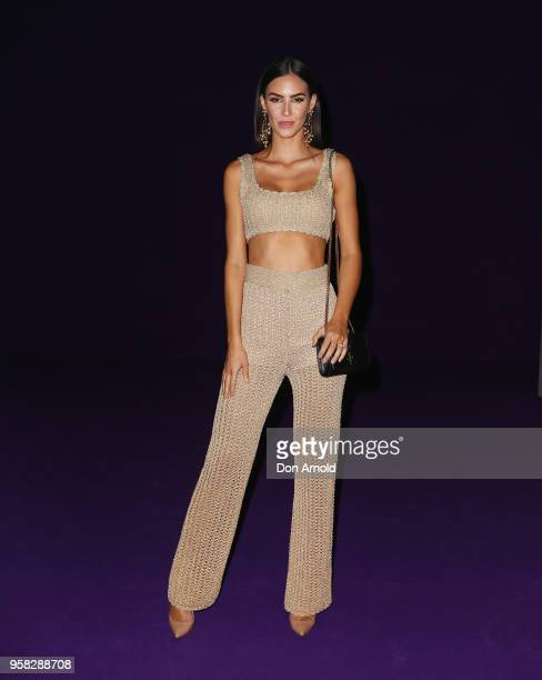 Stephanie Roberts attends the Alice McCall show at MercedesBenz Fashion Week Resort 19 Collections at Carriageworks on May 14 2018 in Sydney Australia