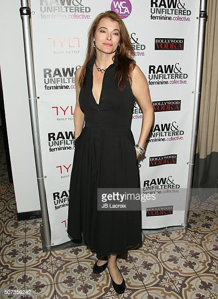 Stephanie Romanov attends the 'Feminine Collective Raw And Unfiltered' Vol 1 launch party at Palihouse on January 28 2016 in West Hollywood California