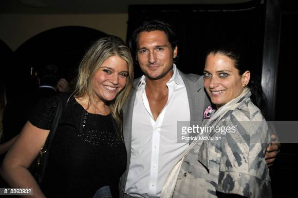 Stephanie Rudnick Matthew Marchak and Daniella Gilbert attend The Luxury Collection Hotelsí Destination Guide Launch with Assouline at Del Posto 85...