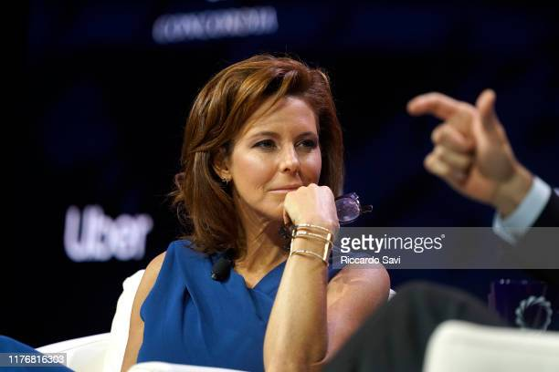 Stephanie Ruhle Anchor MSNBC speaks onstage during the 2019 Concordia Annual Summit Day 2 at Grand Hyatt New York on September 24 2019 in New York...