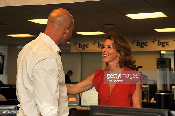 Stephanie Ruhle attends Annual Charity Day hosted by Cantor Fitzgerald and BGC at BGC Partners INC on September 11 2015 in New York City