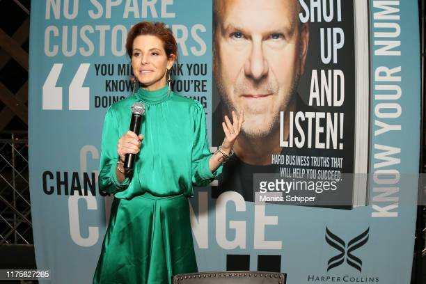 Stephanie Ruhle attends as Haute Living and Louis XIII celebrate Tilman Fertitta cover and book release on September 18 2019 in New York City
