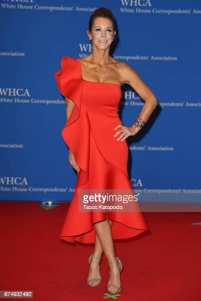Stephanie Ruhle attends the 2017 White House Correspondents' Association Dinner at Washington Hilton on April 29 2017 in Washington DC