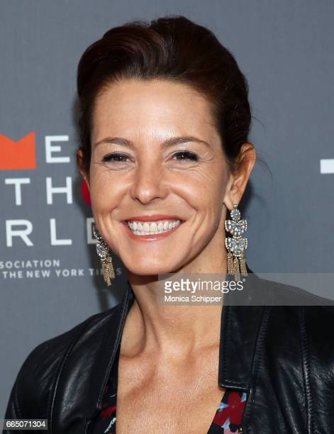 Stephanie Ruhle attends the 8th Annual Women In The World Summit at Lincoln Center for the Performing Arts on April 5 2017 in New York City