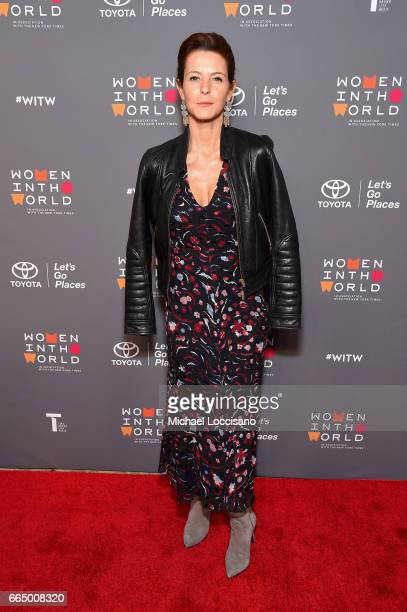 Stephanie Ruhle attends the Eighth Annual Women In The World Summit at Lincoln Center for the Performing Arts on April 5 2017 in New York City