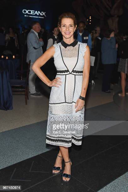 Stephanie Ruhle attends the Launch Of OceanX a bold new initiative for ocean exploration at the American Museum of Natural History on June 4 2018 in...