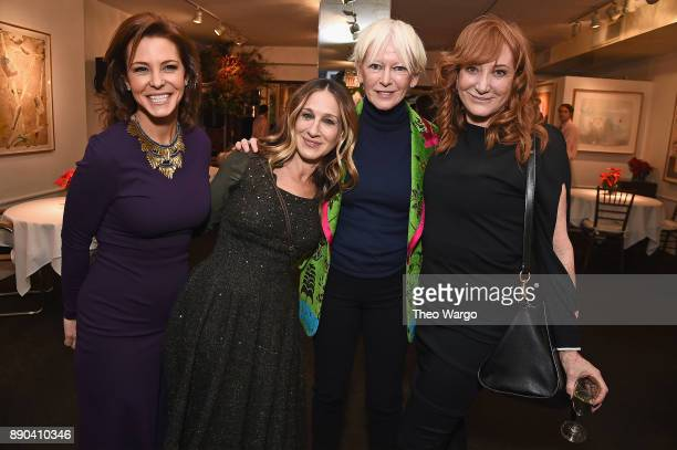 Stephanie Ruhle Sarah Jessica Parker Chief Content Officer for Hearst Magazines Joanna Coles and Patti Scialfa attend the Hearst 100 at Michael's...