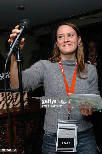 Stephanie Saylor attends The Hamptons International Film Festival Closing Reception and Awards Presentation at Bamboo on October 23 2005 in East...